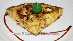 Tortilla de Platano