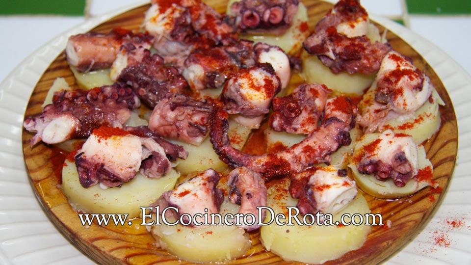 Receta Pulpo a la Gallega - El Cocinero De Rota