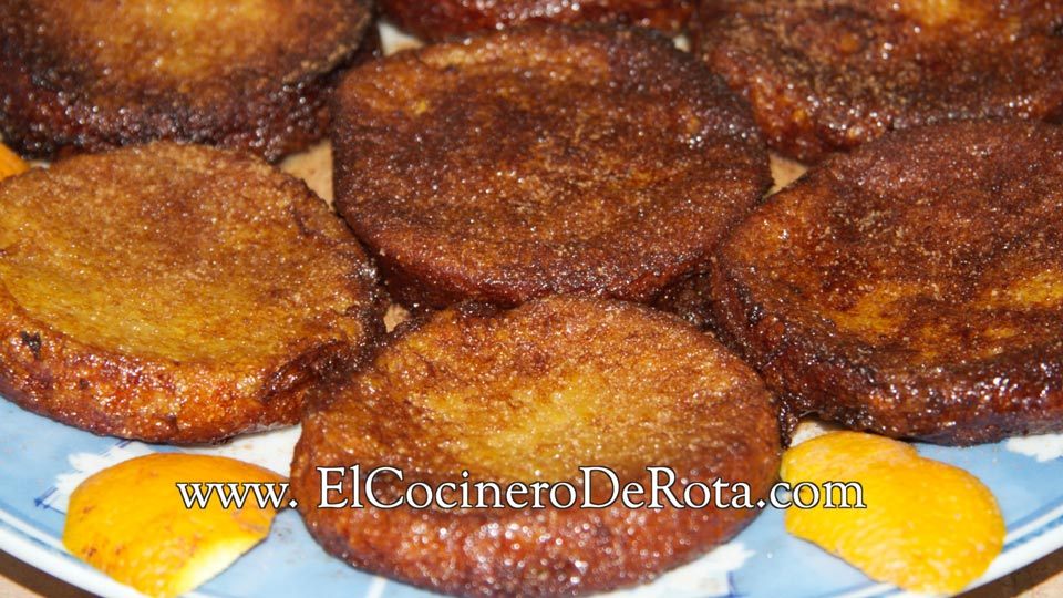 Receta Torrijas - El Cocinero De Rota
