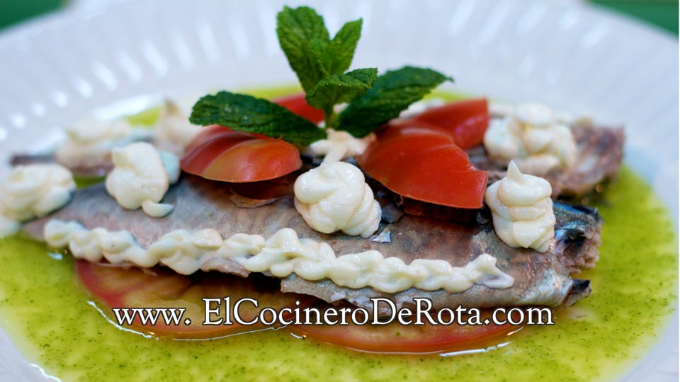 Caballa con Alioli - El Cocinero de Rota