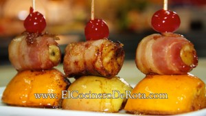 Platano con Bacon