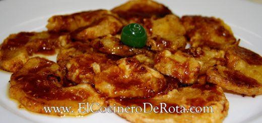 Platano-frito-con-manzana